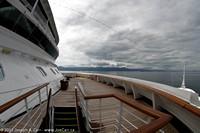 Deck 6 forward and San Blas Islands panorama