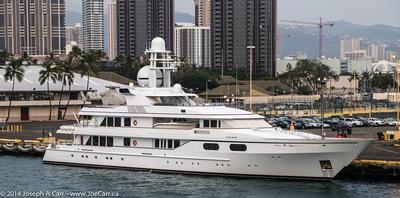Luxury yacht Méduse
