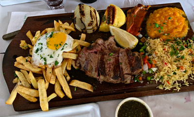 Sirloin steak platter - shared