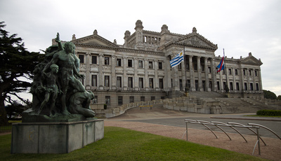 Front of Palacio Legislativo