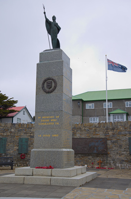 Memorial to the 1982 war