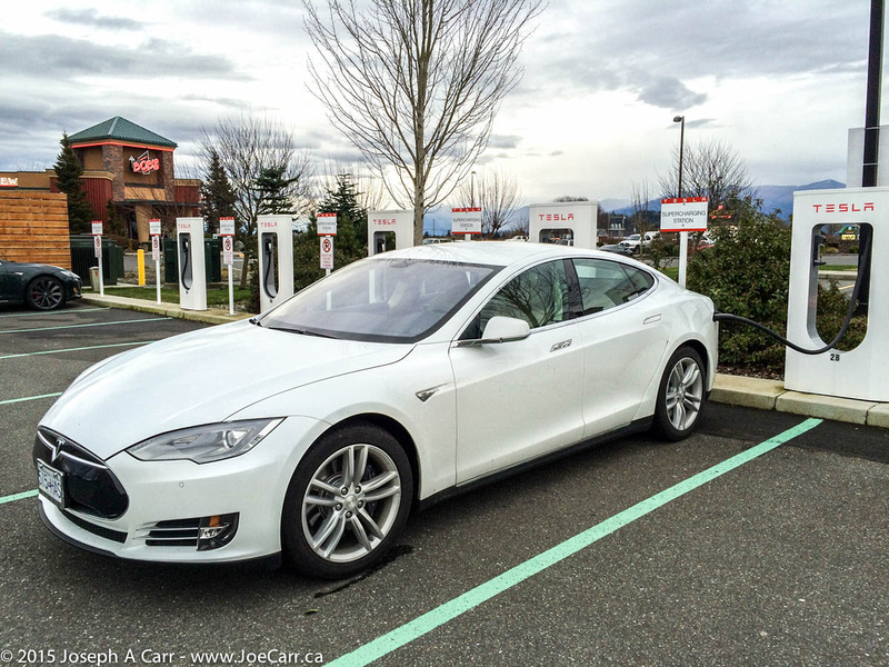 First Tesla Supercharge for my Model S
