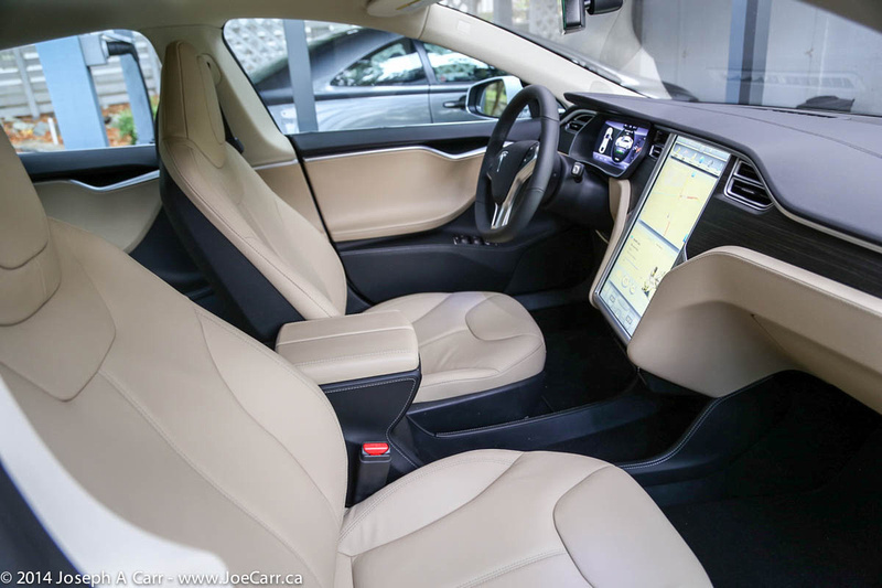 Driver and passenger seats and dash
