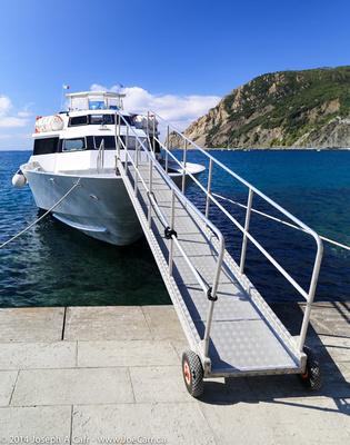 Gangway for the coastal ferry