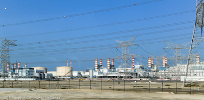 Power generation and desalination plant for Dubai