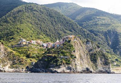 Clifftop village of Corniglia
