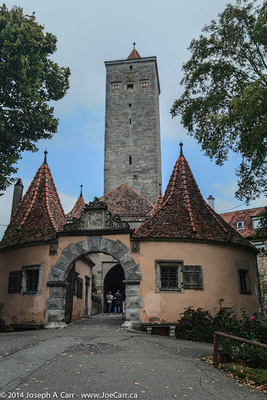 The Castle Gate and tower
