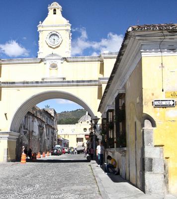 Arch at El Carmen