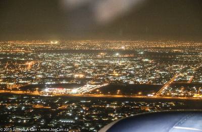 Dubai city lights