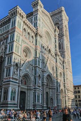 The Duomo front facade