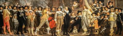 Militia Company of District VIII under the Command of Captain Roelof Bicker - Bartholomeus van der Helst. (1613-1676)