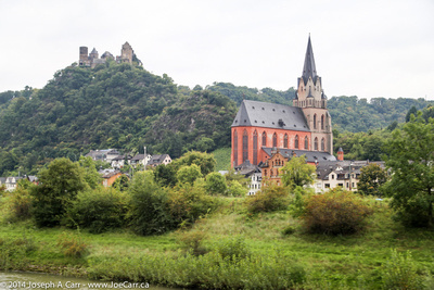 Schonburg castle and Liebfrauenkirche church