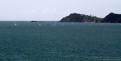 Sailboats on Bay of Islands
