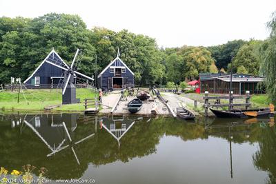 Wind-driven sawmill
