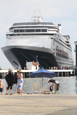 Rotterdam docked