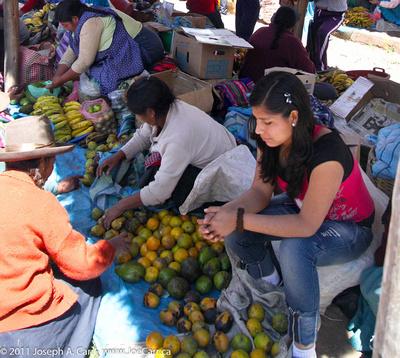 Trading produce