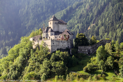 Castel Pietra Schloss Sprechenstein - a small Alpine castle