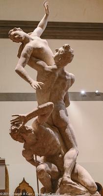 Rape of the Sabines statue