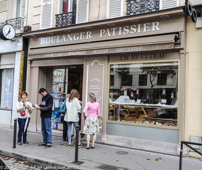 The Sunday morning line is out the door at Boulanger Patissier