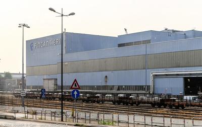 Fincantieri ship building facility