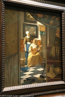 The Love Letter - Johannes Vermeer (1632-1675)