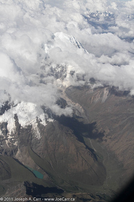 Snow-capped Andes Mountains