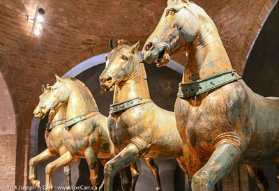 The horses of St. Mark's Cathedral