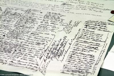 Waitangi Treaty replica