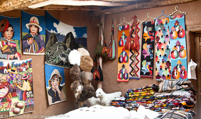 Peruvian wall hangings & other textiles