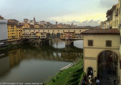 Ponte Vecchio and the Arno River