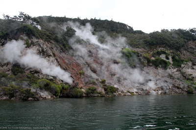 Steaming Donne Cliffs