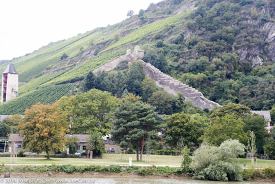 Bacharach's old town wall