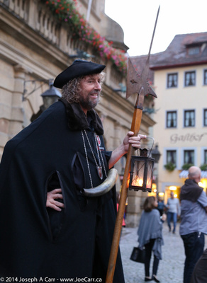 The Night Watchman of Rothenburg