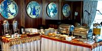 Continental breakfast at La Palette