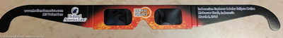 """Official """"Eclipse shades"""" for the 2016 Total Solar Eclipse"""