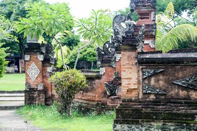Decorative temple gate