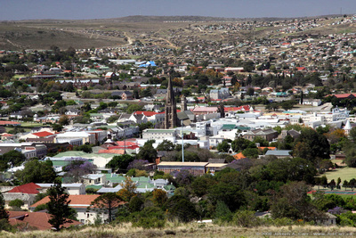 View of Grahamstown from the Monument