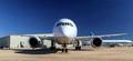 Boeing 787 Dreamliner nose-on