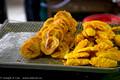 Deep-fried shrimp cakes