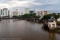 Kuching waterfront on the Sarawak River