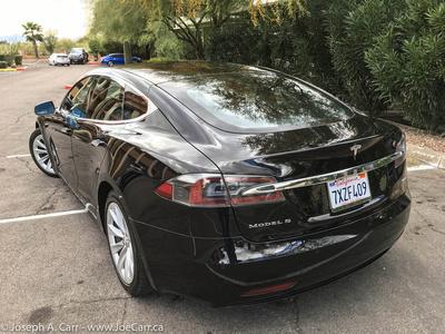My freshly-detailed Tesla Model S rental