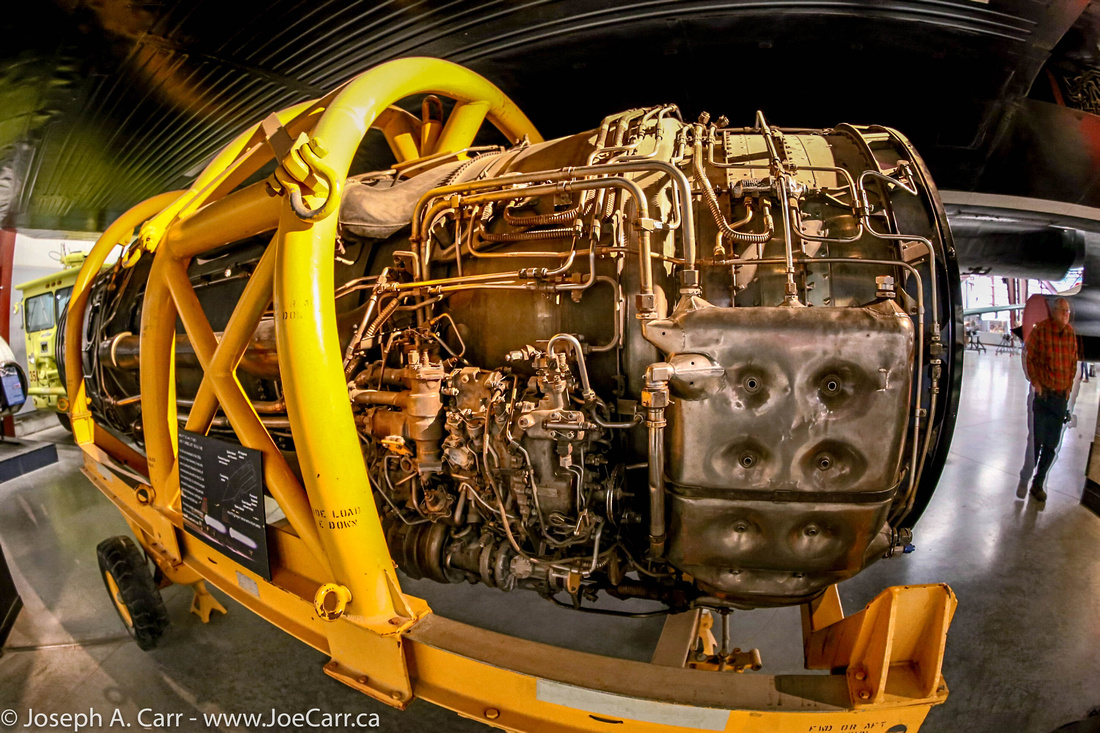 Engine from a SR-71 Blackbird