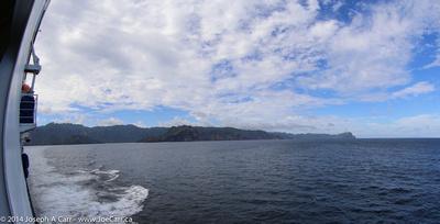 SW coastline of Nuku Hiva