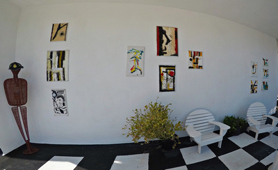 Hotel art gallery