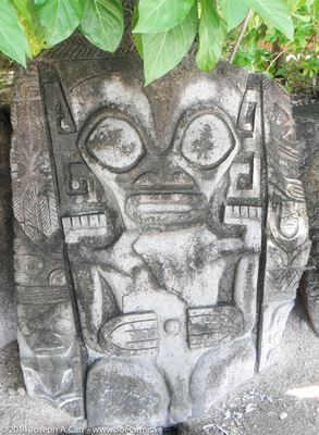 Tahitian petroglyphs