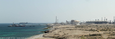 Power generation and water desalination plant