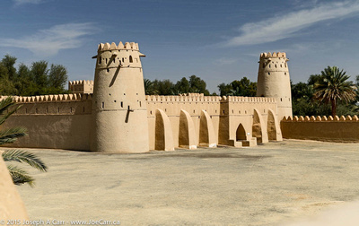 Fort towers and walls
