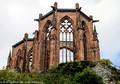 Gothic Wernerkapelle ruin