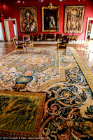 """Tapestry set of the """"Life of Louis XIV"""""""