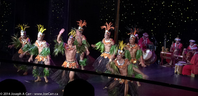 Tahiti Ora folkloric dance troupe